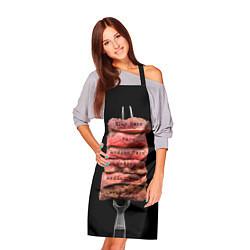 Фартук кулинарный Степени прожарки 1 цвета 3D — фото 2