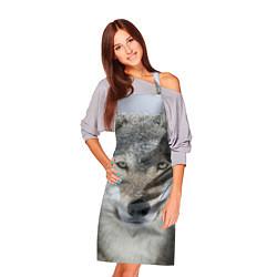 Фартук кулинарный Милый волк цвета 3D — фото 2