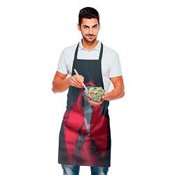Фартук кулинарный Red Vamripe цвета 3D — фото 2