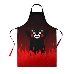 Фартук кулинарный Kumamon: Hell Flame цвета 3D — фото 1