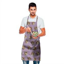 Фартук кулинарный King Of S!t цвета 3D — фото 2