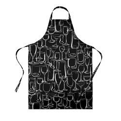 Фартук кулинарный Стеклянный бармен цвета 3D — фото 1