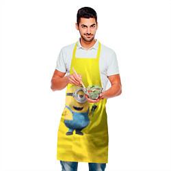 Фартук кулинарный Цветочек цвета 3D — фото 2