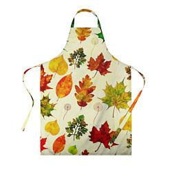 Фартук кулинарный Осень цвета 3D — фото 1
