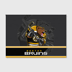Холст прямоугольный Boston Bruins цвета 3D-принт — фото 2