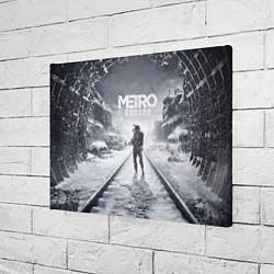 Холст прямоугольный Metro Exodus цвета 3D — фото 2