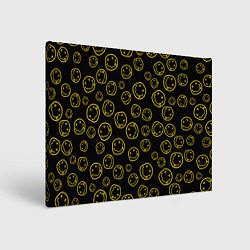 Холст прямоугольный Nirvana Pattern цвета 3D — фото 1