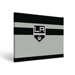 Холст прямоугольный Los Angeles Kings цвета 3D-принт — фото 1