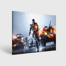 Холст прямоугольный Battlefield Multiplayer цвета 3D — фото 1
