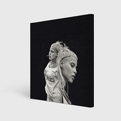 Холст квадратный Die Antwoord: Black Girl цвета 3D-принт — фото 1