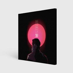 Холст квадратный Blade Runner: Acid sun цвета 3D-принт — фото 1