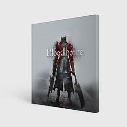 Холст квадратный Bloodborne: Hell Knight цвета 3D — фото 1