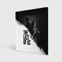 Холст квадратный The Last of Us: White & Black цвета 3D — фото 1