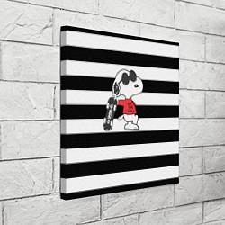 Холст квадратный Vans Doggy цвета 3D — фото 2