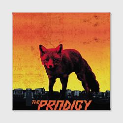 Холст квадратный The Prodigy: Red Fox цвета 3D-принт — фото 2