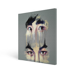 Холст квадратный EXO Eyes цвета 3D-принт — фото 1