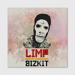 Холст квадратный Limp Bizkit цвета 3D-принт — фото 2