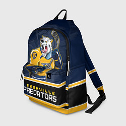 Рюкзак Nashville Predators цвета 3D-принт — фото 1