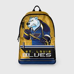Рюкзак St. Louis Blues цвета 3D-принт — фото 2