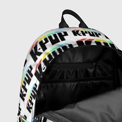 Рюкзак K-pop Pattern цвета 3D-принт — фото 2