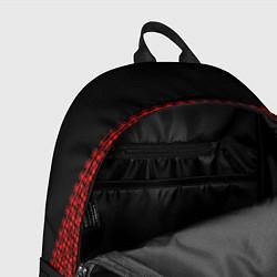 Рюкзак Славянский орнамент (на чёрном) цвета 3D — фото 2