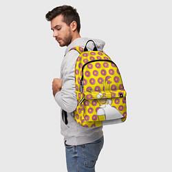 Рюкзак Пончики Гомера Симпсона цвета 3D-принт — фото 2