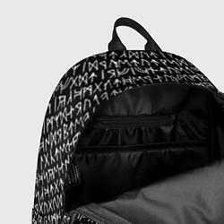 Рюкзак Руны цвета 3D-принт — фото 2
