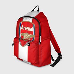 Рюкзак Arsenal FC: Red line цвета 3D-принт — фото 1