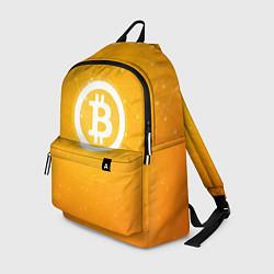 Рюкзак Bitcoin Orange цвета 3D — фото 1