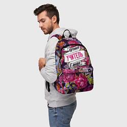 Рюкзак Лучший учитель в Мире цвета 3D-принт — фото 2