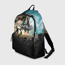 Рюкзак Titanfall Battle цвета 3D-принт — фото 1