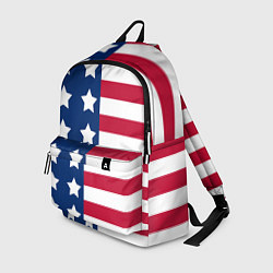 Рюкзак USA Flag цвета 3D-принт — фото 1