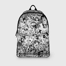 Рюкзак Ahegao: Black & White цвета 3D-принт — фото 2