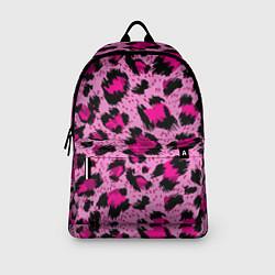 Рюкзак Розовый леопард цвета 3D — фото 2