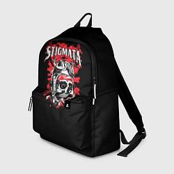 Рюкзак Stigmata Skull цвета 3D — фото 1