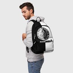 Рюкзак Ramones B&W цвета 3D-принт — фото 2