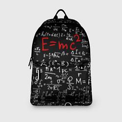 Рюкзак E=mc2 цвета 3D-принт — фото 2