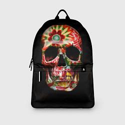 Рюкзак Расписной череп цвета 3D — фото 2