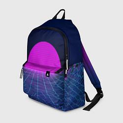 Рюкзак Digital Sunrise цвета 3D-принт — фото 1