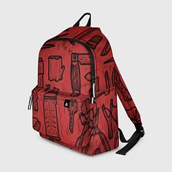 Рюкзак Инструменты мужика цвета 3D-принт — фото 1