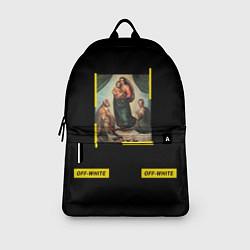 Рюкзак Off White: Sistine Madonna цвета 3D-принт — фото 2