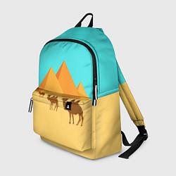 Рюкзак Пирамиды Египта цвета 3D — фото 1
