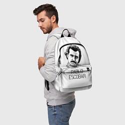 Рюкзак Pablo Escobar цвета 3D-принт — фото 2