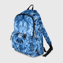 Рюкзак Сине-бело-голубой лев