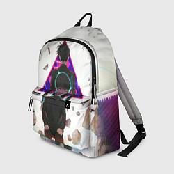 Рюкзак Mob Psycho 100 цвета 3D-принт — фото 1