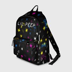 Рюкзак Lil Peep: Legend цвета 3D — фото 1