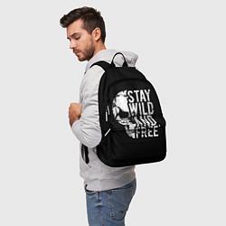 Рюкзак Stay wild and free цвета 3D — фото 2