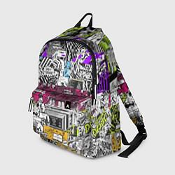 Рюкзак Watch Dogs: Pattern цвета 3D — фото 1