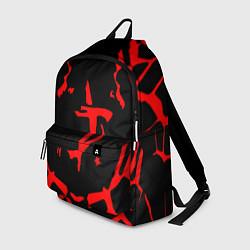 Рюкзак DOOM: Red Slayer цвета 3D-принт — фото 1