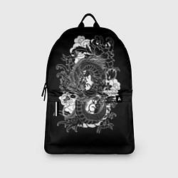 Рюкзак Японский дракон цвета 3D — фото 2